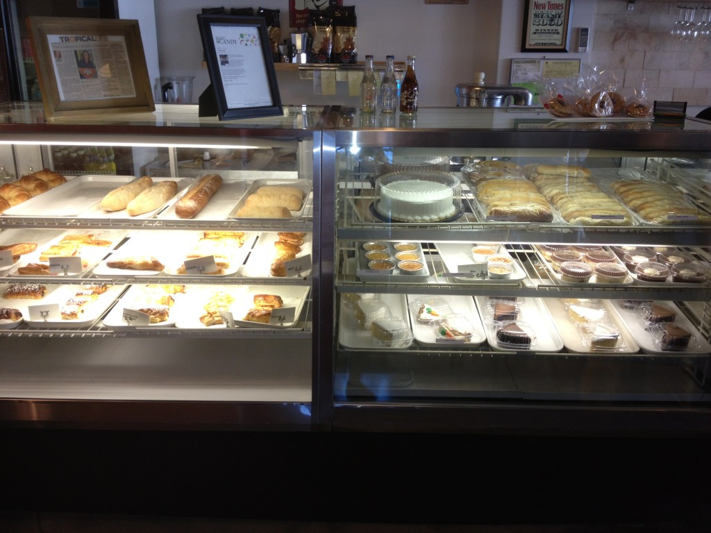 YiYa's has a great selection of pastries, desserts and breads.