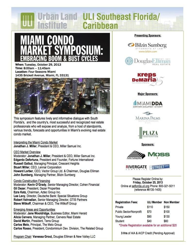 Miami Condo Symposium Meeting Notice_reg