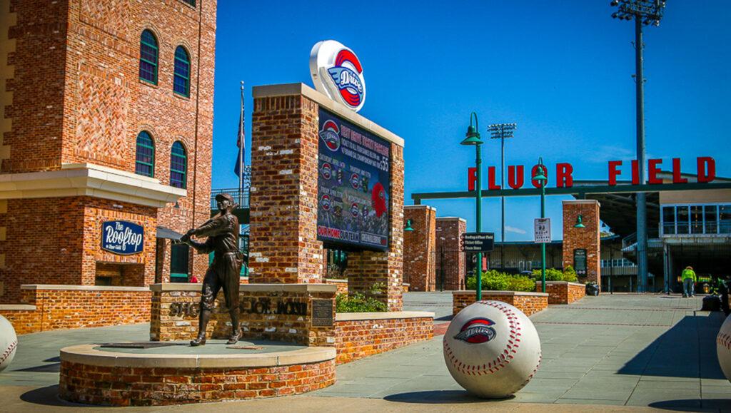 Fluor Baseball Field in downtown Greenville, SC