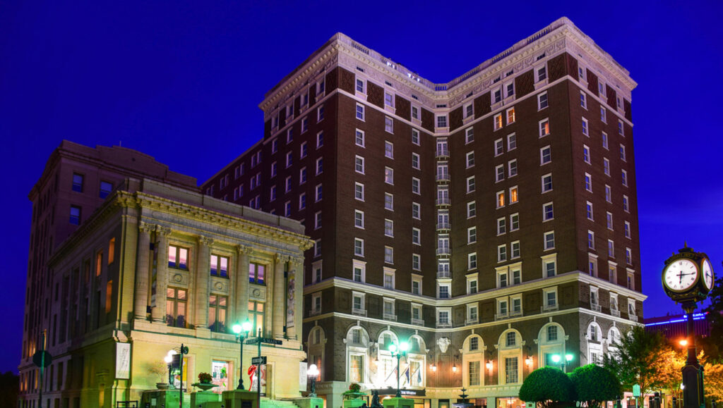 The Historic Poinsett Hotel in Greenville, SC