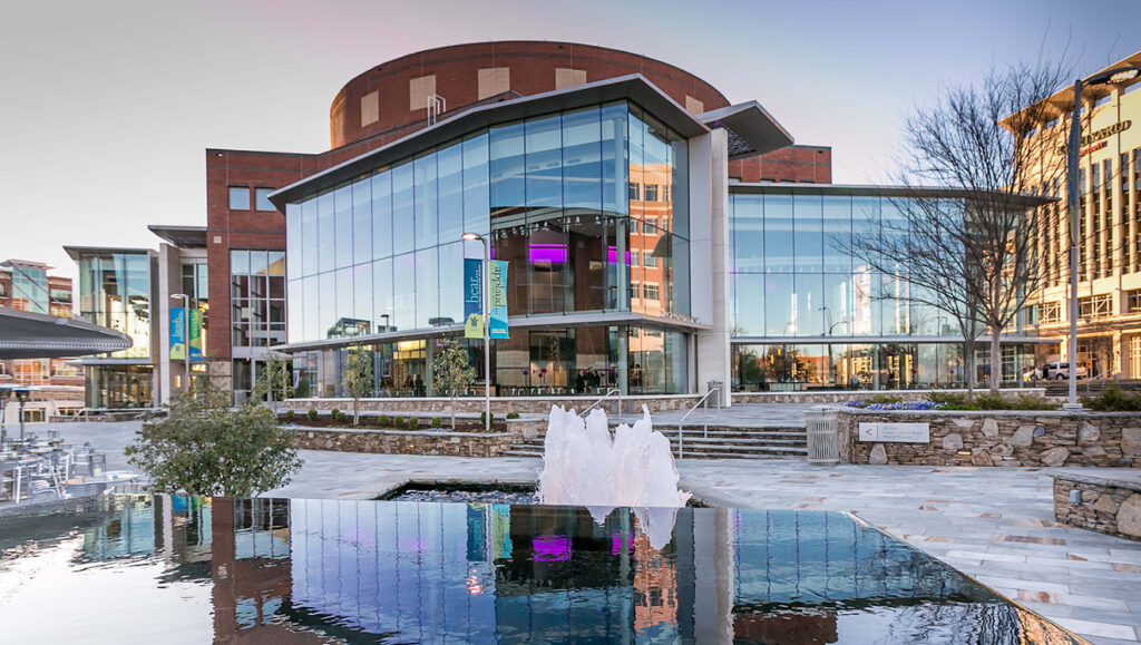 Peace Center for Performing Arts in Greenville, SC